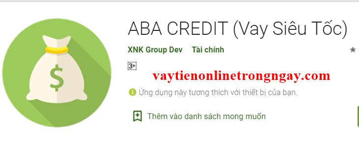 ABA CREDIT